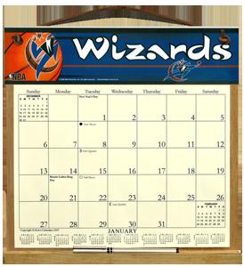 washington wizards calendar holder 28 00 kims calendars made
