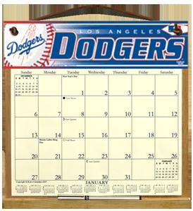 Dodgers Calendar.La Dodgers Calendar Holder 28 00 Kims Calendars Made In The